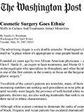 Edmund Kwan, M.D. Cosmetic Surgery Goes Ethnic Related Articles